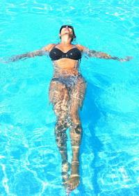 Porn clips Salma hayek naked shower
